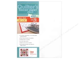 C: C&T Publishing Notions Quilter's Freezer Paper Sheets 8 1/2 x 11 in. 70 pc.