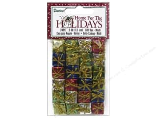 Darice Holiday Gift Boxes 1/2 in. Assorted 24 pc.