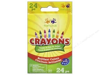 Crayons: Multicraft Krafty Kids Crayons 24pc
