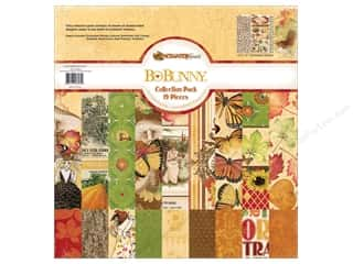 Best of 2012 Bo Bunny Paper & Sticker Collection Pack: Bo Bunny 12 x 12 in. Collection Pack Enchanted Harvest