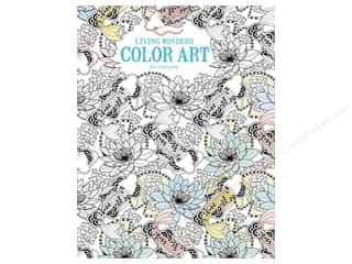 Activity Books / Puzzle Books: Living Wonders Color Art For Everyone Coloring Book by Leisure Arts