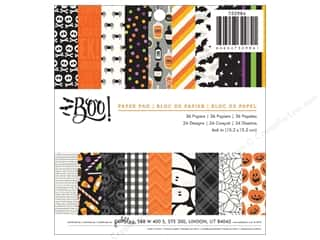 """Bo Bunny Paper Pads 6""""x 6"""": Pebbles Boo Collection Paper Pad 6""""x 6"""""""
