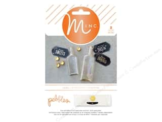 scrapbooking & paper crafts: Pebbles MINC Sticker Label Boo Halloween