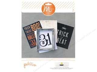 scrapbooking & paper crafts: Pebbles MINC Gallery Prints Boo Halloween