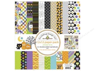 Clearance Coredinations Cardstock Packs: Doodlebug 12 x 12 in. Paper Pack October 31st