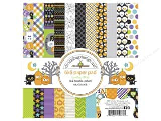 """Bo Bunny Paper Pads 6""""x 6"""": Doodlebug Paper Pad 6 x 6 in. October 31st"""