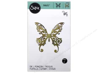 die cuts: Sizzix Thinlits Die 1 pc. Magical Butterfly