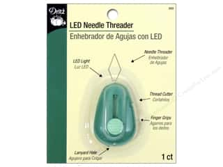 Drawstring Elastic: Dritz Threader LED Needle