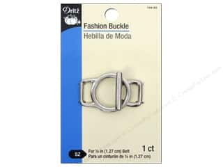 Fashion Buckle by Dritz Toggle 1/2 in. Silver