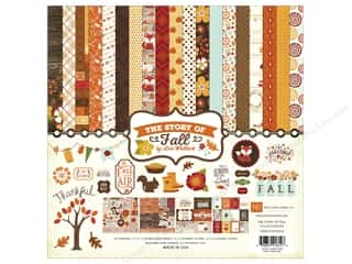 Fall Sale: Echo Park 12 x 12 in. Collection Kit Story Of Fall