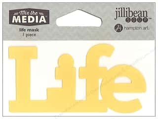 "craft & hobbies: Hampton Art Mix The Media Mask 4"" Life"
