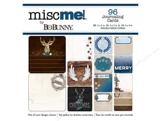 Bo Bunny Misc Me: Bo Bunny Misc Me Journaling Cards Sleigh Ride