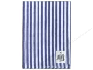 """Dunroven House Towel 20""""x 28"""" Chambray Stripe Blue/White"""