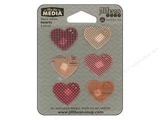 die cuts: Hampton Art Mix The Media Vellum Hearts