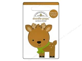 3D Stickers: Doodlebug Doodle-Pops 3-D Stickers Sugarplums Dasher