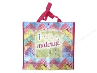 """Tacony Notions Shopping Tote 15""""x 14""""x 4"""" Material Girl Picture"""