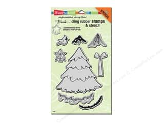 Holiday Sale Stampendous Cling Rubber Stamp: Stampendous Cling Rubber Stamp Christmas Create Christmas