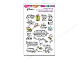 Holiday Sale Stampendous Cling Rubber Stamp: Stampendous Perfectly Clear Stamps Christmas Holiday Expressions