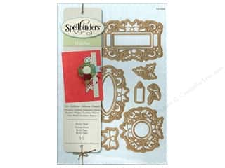 die cutting machines: Spellbinders Shapeabilities Die Holly Tags