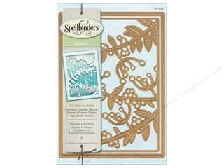 die cutting machines: Spellbinders Die Card Creator Mistletoe Card Front