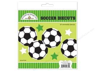 die cuts: Doodlebug Collection Goal Die Cuts Kit Soccer