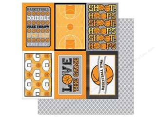 Doodlebug 12 x 12 in. Paper Slam Dunk Swish (25 sheets)