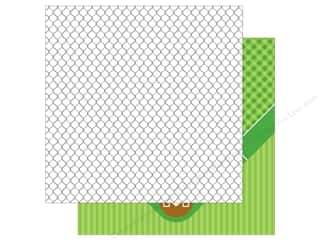 Doodlebug 12 x 12 in. Paper Home Run Back Stop (25 sheets)