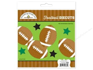 die cuts: Doodlebug Collection Touchdown Die Cut Kit