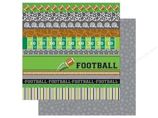 scrapbooking & paper crafts: Doodlebug 12 x 12 in. Paper Touchdown Star Player (25 sheets)
