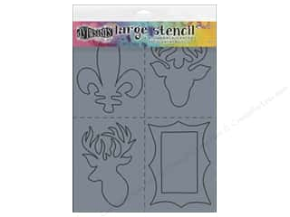 dies: Ranger Dylusions 9 x 12 in. Stencil Country