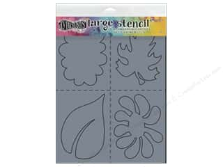 craft & hobbies: Ranger Dylusions 9 x 12 in. Stencil Nature
