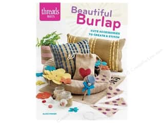 books & patterns: Taunton Press Threads Selects Beautiful Burlap Book