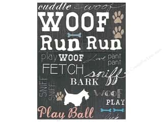 Molly & Rex Pocket Note Pad Woof
