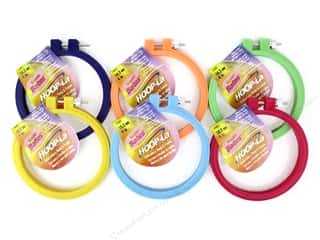 yarn & needlework: Susan Bates Hoop-La Embroidery Hoops 4 in. 1 pc.
