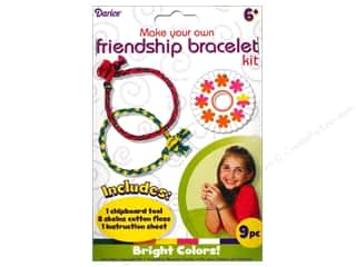 Darice Kit Friendship Bracelet Bright