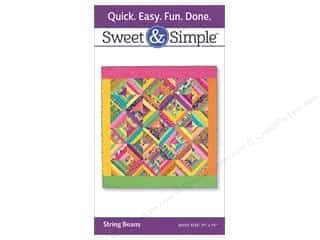 twine: That Patchwork Place Sweet & Simple String Beans Pattern