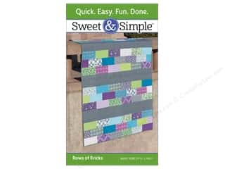 Weekly Specials Pattern: That Patchwork Place Sweet & Simple Rows Of Bricks Pattern (6 pieces)