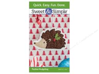 That Patchwork Place Sweet & Simple Festive Hedgehog Pattern