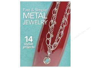 beading & jewelry making supplies: Kalmbach Fast & Simple Metal Jewelry Book