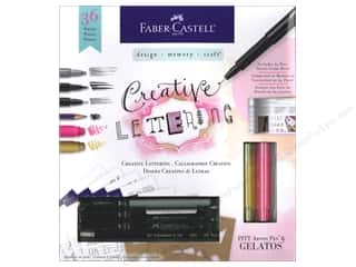 Holiday Sale Wilton Kit: Faber-Castell Kits Creative Lettering