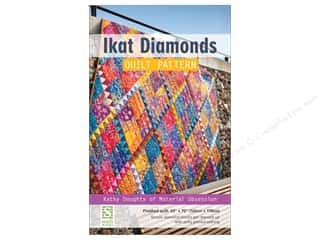 Clearance: Stash By C&T Ikat Diamonds Quilt Pattern