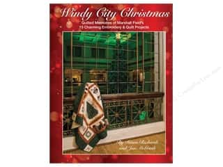 Clearance: Windy City Christmas: Quilted Memories of Marshall Field's Book by Diana Richards and Jan McGrath