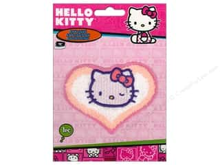 C&D Visionary Applique Hello Kitty Chenille Heart