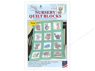 yarn & needlework: Jack Dempsey 9 in. Quilt Blocks 12 pc. Forest Friends