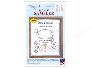 "stamps: Jack Dempsey Sampler 11""x 14"" Just Married"