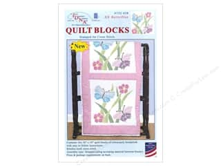Jack Dempsey 18 in. Quilt Blocks 6 pc. XX Butterflies