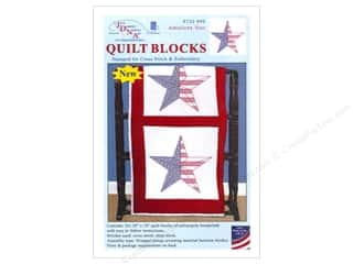 stamps: Jack Dempsey 18 in. Quilt Blocks 6 pc. American Star