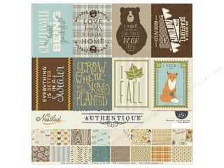fall sale: Authentique 12 x 12 in. Collection Kit Nestled