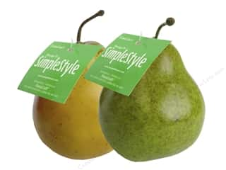 craft & hobbies: Floracraft SimpleStyle Pear Yellow/Green