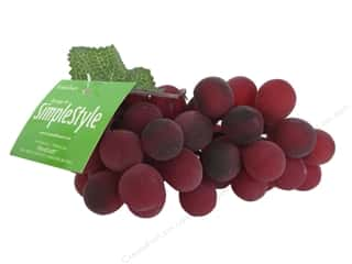 Floracraft SimpleStyle Decor Grape Bunch Red